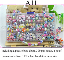 Beads toy for Children amblyopia training Kid's DIY Jewelery making Learning & Education beads Toys Girls DIY necklace/bracelet(China (Mainland))