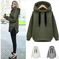 Hot sale winter hoodies women 2015 New fashion Korean Loose Large size thick long sleeve hoody
