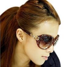 Veľké moderné dámske slnečné okuliare v rôznych farbách z Aliexpress