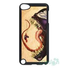 Fit for iPhone 4 4s 5 5s 5c se 6 6s 7 plus ipod touch 4/5/6 back skins cellphone case cover Venom VS Amazing Spiderman