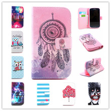 New Arrival pattern Flip PU Leather Case Stand Function wallet Card Holder Phone Cover For Samsung Galaxy Grand Neo i9060 i9082
