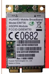 HuaWei EM730 Mini PCI-e  HSPA  Wireless WWAN Wlan Card<br><br>Aliexpress