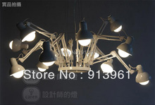 Warm Loft Industrial Style Moooi Ron Gilad Dear Ingo modern Pendant spider chandelier E27, 12 lights ,FREE SHIPPING(China (Mainland))