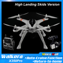 Walkera QR X350 Pro Upgrade Version with DEVO F12E FPV GPS High Landing Skids RC Quadcopter Drone with Gimbal and Camera(China (Mainland))