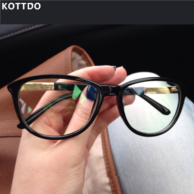 KOTTDO 2017 New Brand Optical EyeGlasses Women Cat Eyeglasses Frame Computer Reading Eyewear for male female Oculos de grau