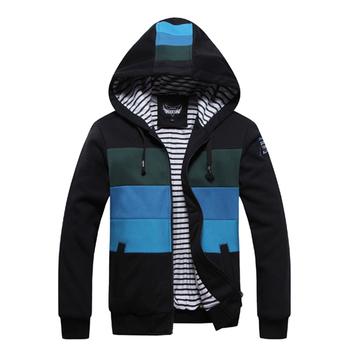 2015 Free Shipping HOT Men's Hoodies Sweatshirts Men's Casual Wear Autumn Wear Fashion Style Black&Gray&Green Size M-XXL MWW021