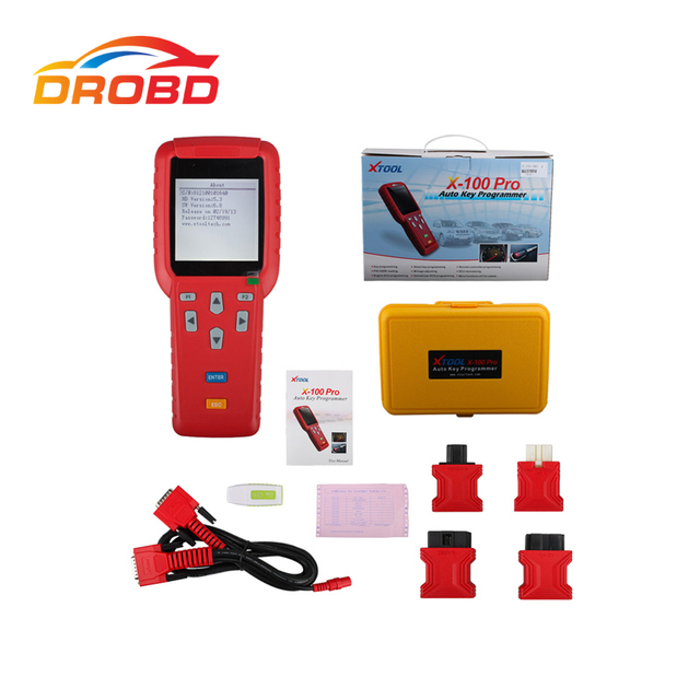 XTOOL X-100 Pro X100+ X100 Pro Auto Key Programmer New Remote Controller Programming Free Update Via Official Website