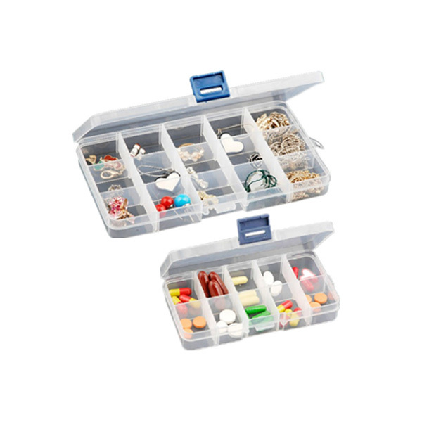 1PCS Organizer Storage Beads Box 3 Size 10 15 24 Compartment Slot Free Installation Demolition Plastic Jewelry Adjustable Case(China (Mainland))