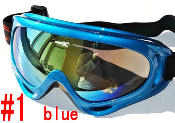 Free shipping Wind and dust goggles Colorful breathable the   ski glasses men and women snow goggles ski products 00K