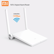 Original Xiaomi Router Mi WiFi Router Dual Band 2.4GHz / 5GHz 1167Mbps AC Intelligent Wireless Repeater for iPhone IOS / Android(China (Mainland))