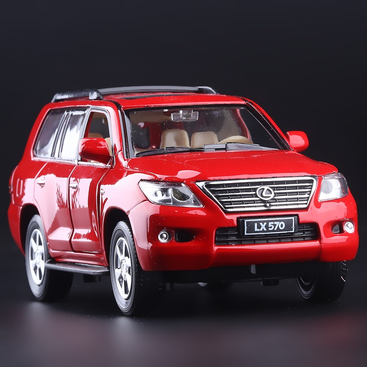 High Simulation Exquisite Collection Toys: CaiPo Car Styling LEXUS LX570 Luxury Off-Road 1:32 Alloy SUV Car Model Best Gifts(China (Mainland))