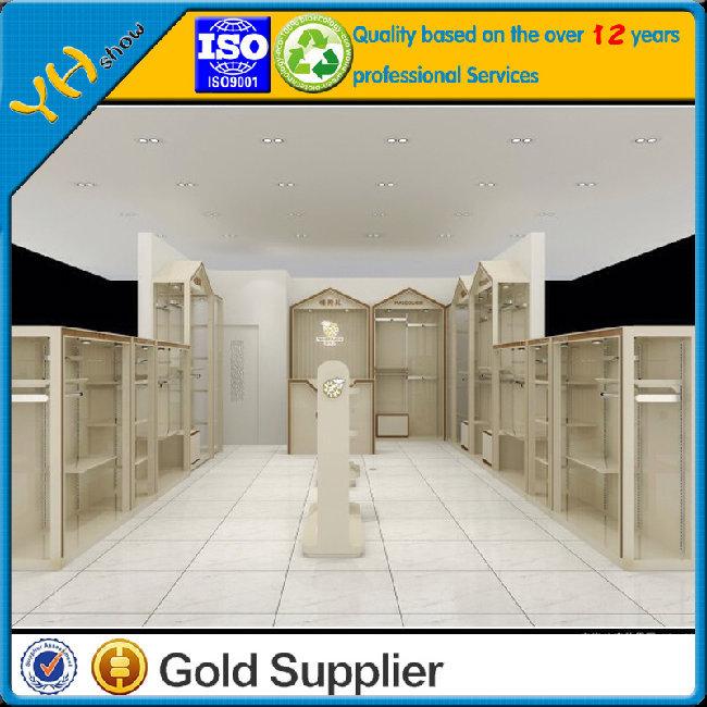 Retail Clothing Store Furniture/Clothing cabinet /clothing shelf/childen's clothing Furniture display racks 046(China (Mainland))