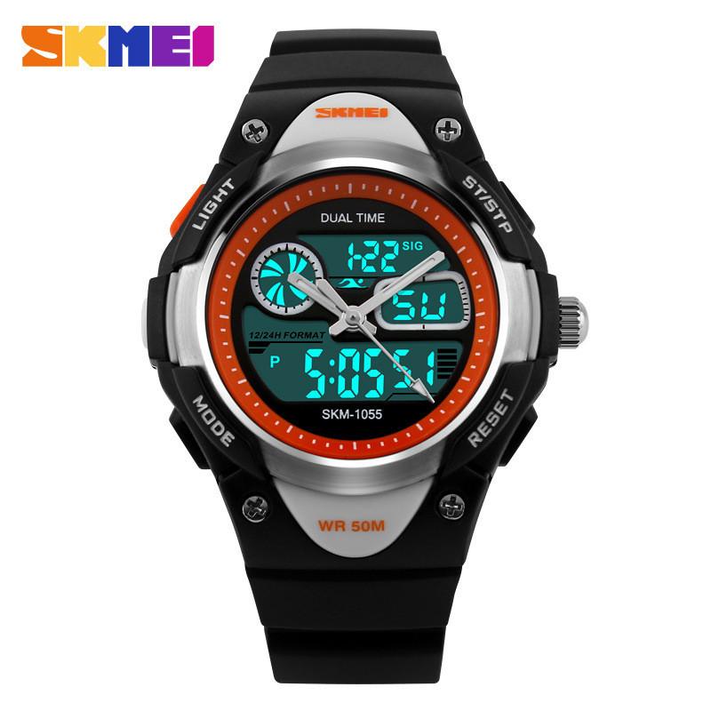 New 2016 Led Digital Kids Watch Sports Alarm Stopwatch Cute Watches Waterproof Watches Clock Children's Watch Kids Wristwatches(China (Mainland))
