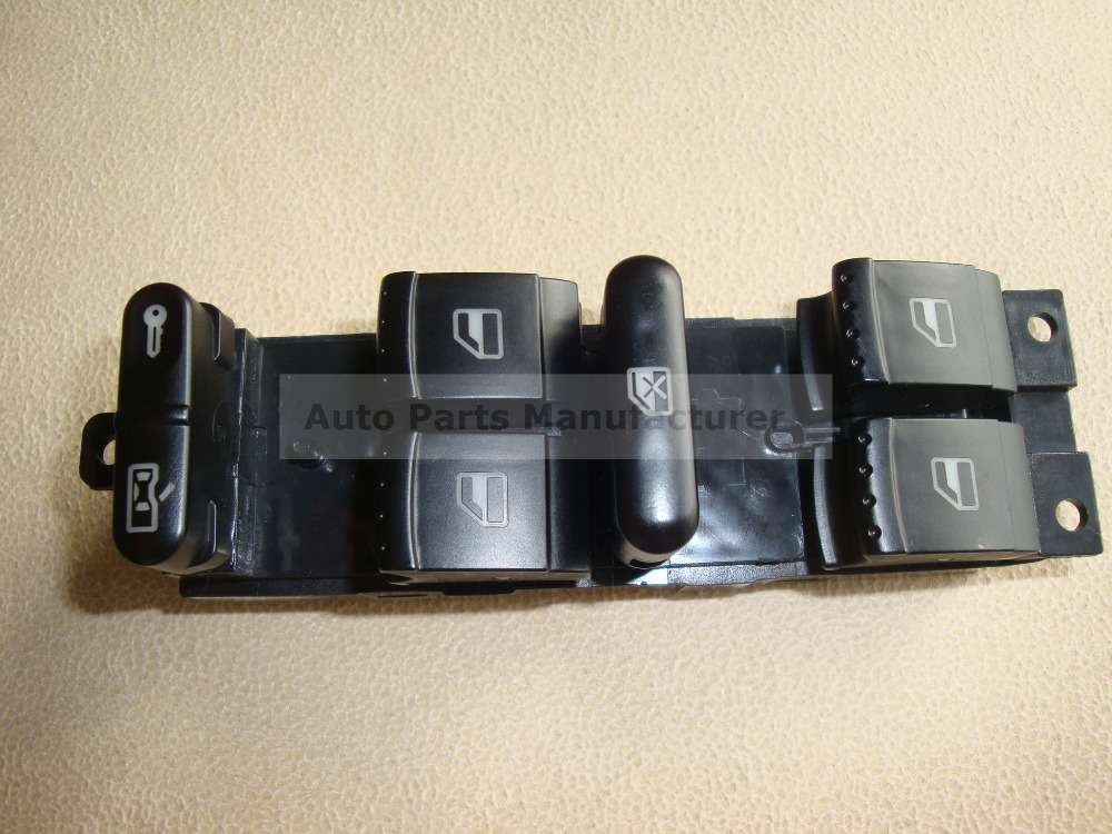 Driver Side Window Master/Control Switch For Seat Leon Toledo OEM 1J4959857D NEW FREE SHIPPING(China (Mainland))