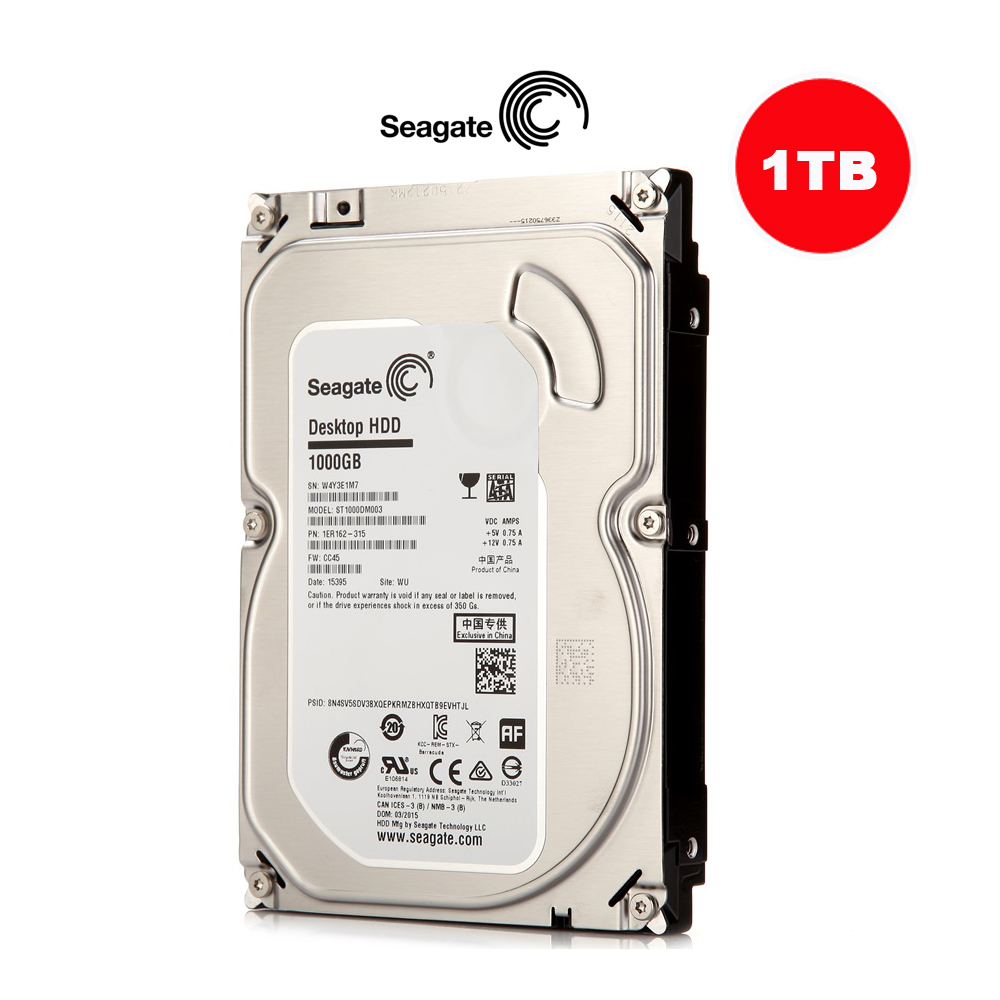 CCTV Accessories Original Seagate 3.5'' Inch SATA HDD 1TB Hard Drive Disk For Video Surveillance CCTV Camera Security SYSTEM& PC(China (Mainland))
