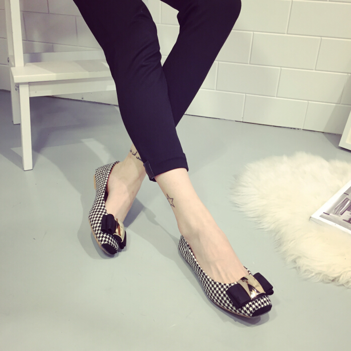 Latest New arrial Women's shoes Flats fashion flat shoes ...