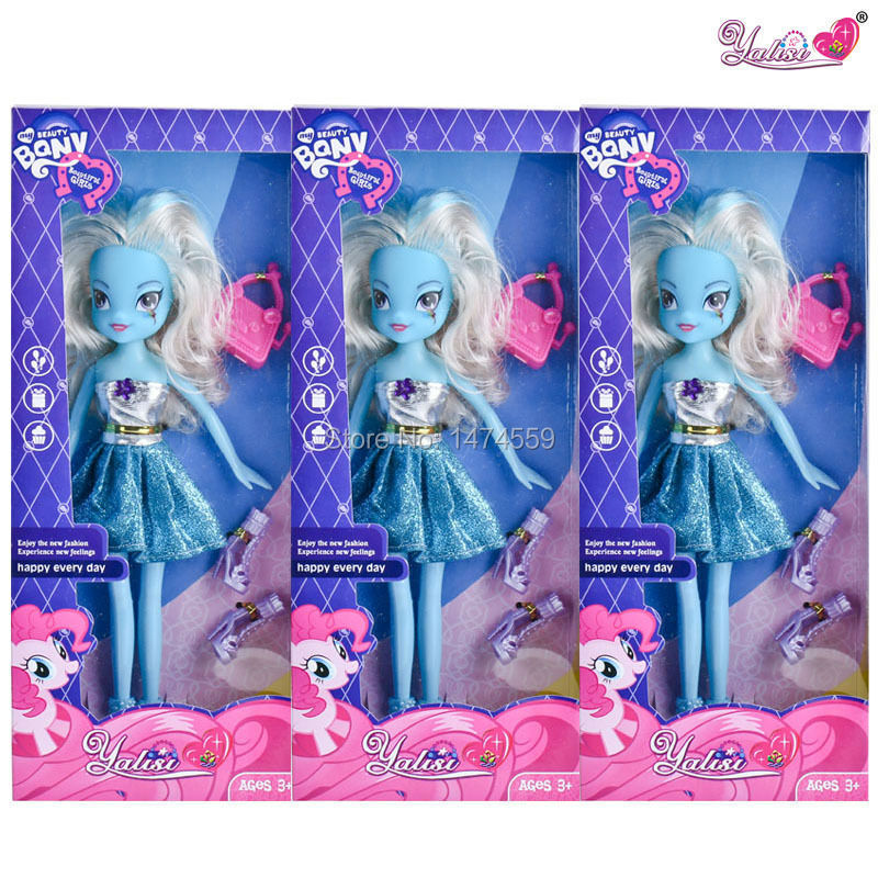 Hot selling Little Ponys Girls One Piece Only Barbiee doll for girls For Christmas Decorations Boneca Barbiee high dolls inc(China (Mainland))