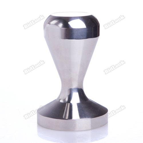 lovestores Rising stars 49mm Coffee Stainless Steel Making Barista Espresso Tamper Base Body Press Multifunctional