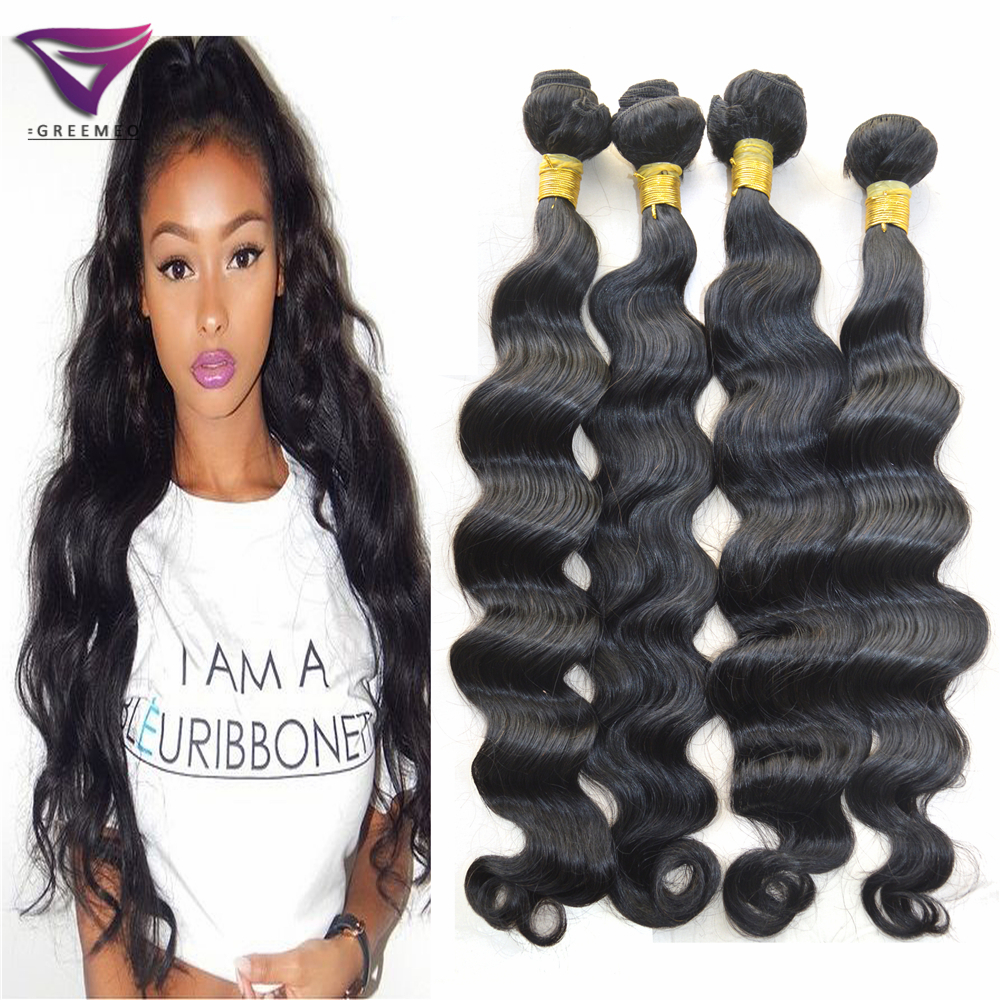 Human Hair Weave For Black Women Styling Hair Extensions