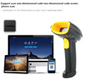 2017 new USB Laser Bar code Scanner Support scan one dimensional code two dimensional code screen