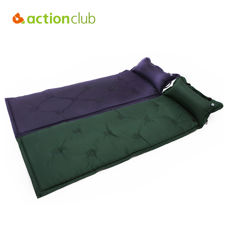 Folding Bed Automatic : Actionclub folding tent bed automatic inflatable dampproof