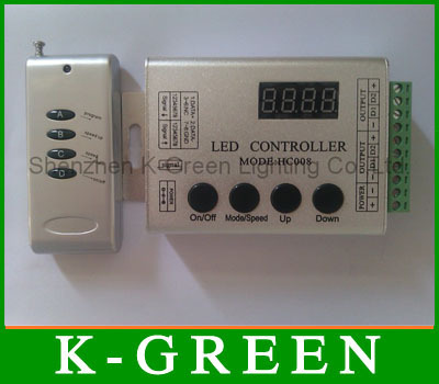 5X LPD6803 dream color LED strip controller Max 2048 pixels free shipping(China (Mainland))