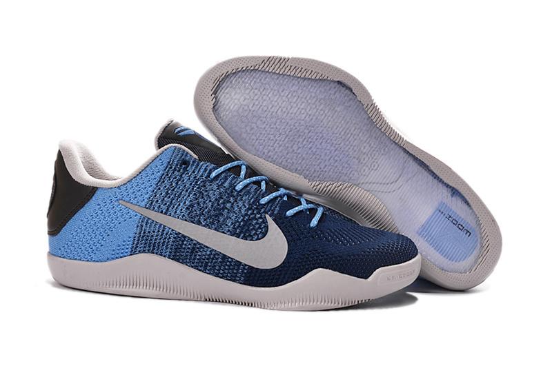 Nike Kobe 11 Elite Lage Basketbalschoenen 2016 Kobe 11 Blauw Laarzen Hoge Kwaliteit Sneakers Goedkope Sportschoenen