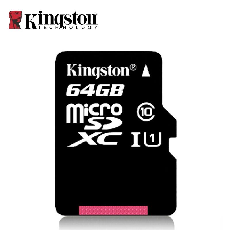 Kingston Original SDC10 pass H2testw Memory card micro sd card 64GB 32GB 16GB Class10 8GB 4GB
