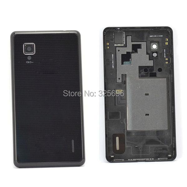 Housing Cover Rear Back Battery case LG Optimus G E973 E975 , Black !! - Top Leading HK Co., Ltd store
