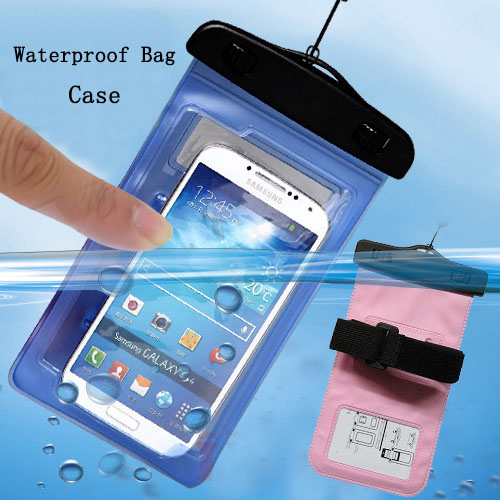 New PVC Sport Swimming drifting Underwater Phone Cover Waterproof Bag Case For Lenovo K4 K7 K7T K8 K12(China (Mainland))