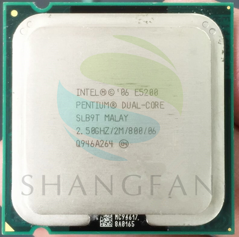 Huihuang technology co, ltd e6500 процессора pentium двухъядерный / 293 ггц / 2 м / 1066 / 775 ( lga775