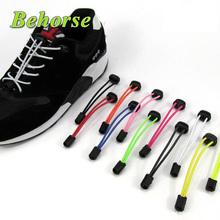 New Locking Shoe Laces Elastic Shoelaces Running/Jogging/Triathlon/Sports Tie Fitness Shoelace 8 Color(China (Mainland))