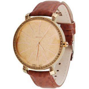 Аутентичные 3D звезда алмазной гранью стол юлий женские часы женские кварцевые круглый стальной Высокое качество оригинальный бренд