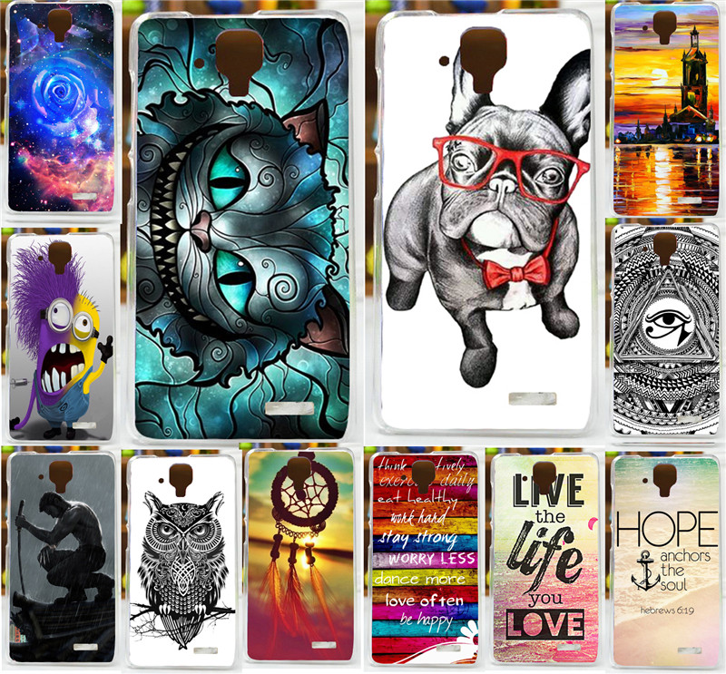 Hot Sale Cute Dog Cool Owl Animal Wolverine Beautiful Flower Blue Rose Painted Case For Lenovo S820 820 Phone Case Cover Shell(China (Mainland))