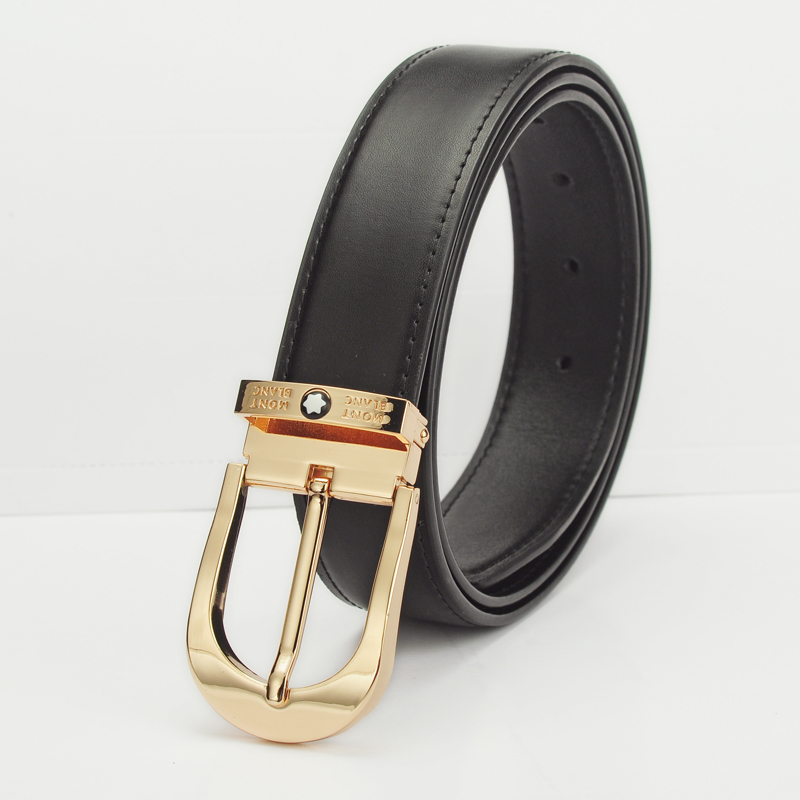 2015 new! Mens fashion classic simple star design MO/MB belts. High quality genuine leather belt. New product discount promotion(China (Mainland))