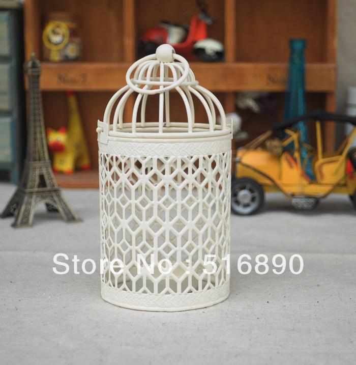 Wedding Gift Candle Holders : !Weddings lantern Candle Holder bird cage candle holder wedding gift ...