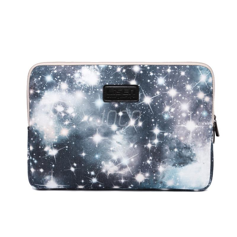 Computer Bag Notebook Netbook Smart Cover Pouch For ipad MacBook StarrySky Sleeve Case 11 12 13 14 15 inch Laptop Bags(China (Mainland))