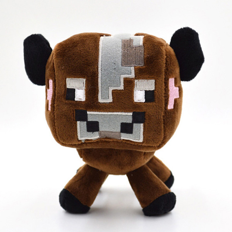 kids soft toys My world anime action figure Brown cow baby toy birthday gifts plush toy doll jouets en peluche juguete brinquedo(China (Mainland))