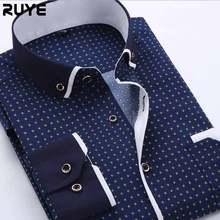 2015 nuovi uomini di camicie camicie a quadri a maniche lunghe vestito di marca camicia più di formato cuciture camicia di vestito casuale 4xl camasia XG50-386(China (Mainland))