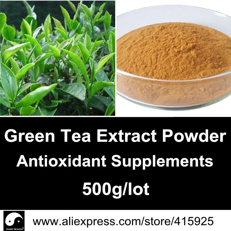 Зеленый чай антиоксидант