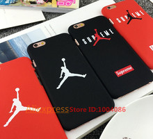 Fashion supreme flyman jordan case for iphone 5/5s SE 6 6s plus back mate hard cover carcasa funda coque for iphone case(China (Mainland))