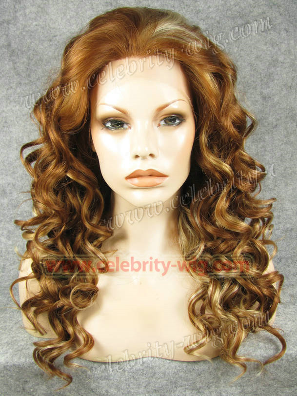 N4-30Y/27HY/613# synthetic lace front wig with special highlighted hot sales<br><br>Aliexpress