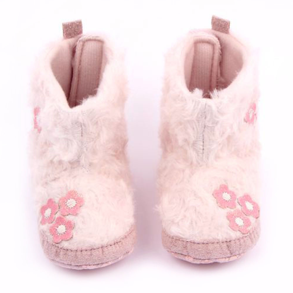 Princess Infants Baby Girls Flower Snow Shoes Toddler Warm ...