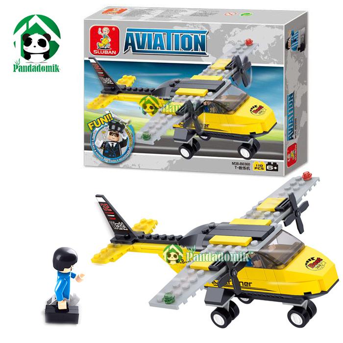 Building blocks compatible 15Model airplane / Educational Bricks Toys /Toys children's products - Pandadomik store