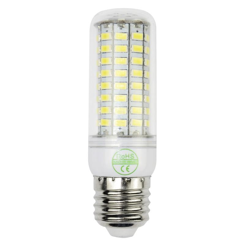 Hot selling Smart IC SMD5730 lamparas E27 24-90LED bulb lamp SMD5730 led Warm white/white Corn Bulb Light 110V/220V(China (Mainland))