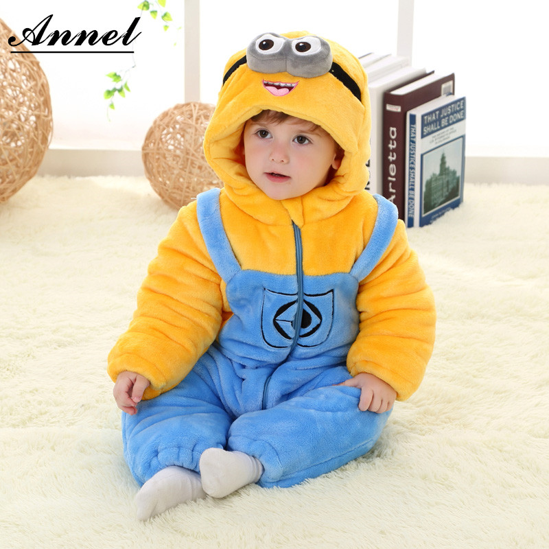 Cute Cartoon baby rompers newborn baby boy gril winter clothes baby christmas clothes winter rompers halloween costumes