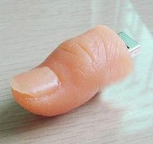 UP26 Free shipping Funny 16gb Human Finger Model USB Flash Drive USB2.0 USB Stick Pendrive U disk Flash Memory Storage Pen Drive
