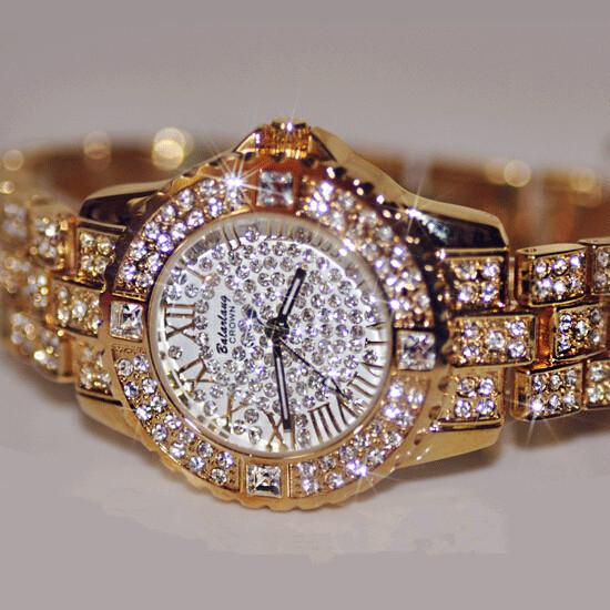 2016 New Fashion Women Watches, High Quality Austrian Diamond Women Rhinestone Watches, Rose Gold Woman Lady Dress Watch Clocks(China (Mainland))