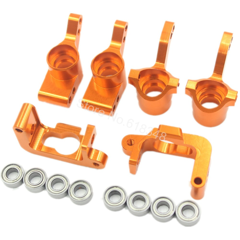 HPI Bullet ST 3.0 MT WR8 RTR Kit Aluminum Steering Knuckle C Hub Carrier Replace #108077 108078 108021 101208 Upgrade Parts - RC Hobby Zone Industry Co.,Ltd store