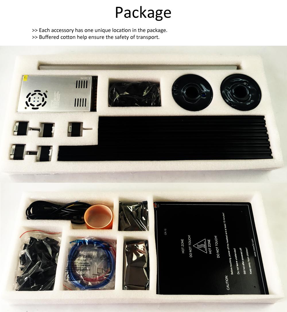 Flsun Cube DIY 3D Printer kit Large Printing Area 260*260*350mm Open Build Aluminium Frame 3 d printer with Heated Bed